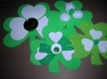 More Shamrock Ornaments.