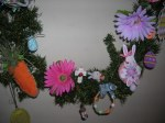 Easter Garland Left Side Lower
