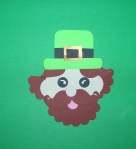 Add a glint to the leprechaun with a white paint pen.